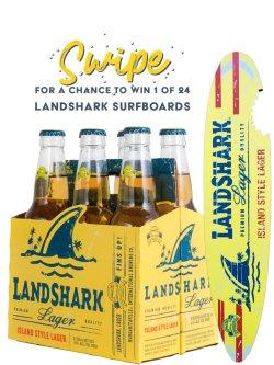 Landshark Premium Lager 6 Pack Bottles