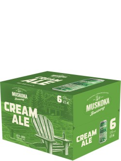 Muskoka Cream Ale 6 Pack Cans