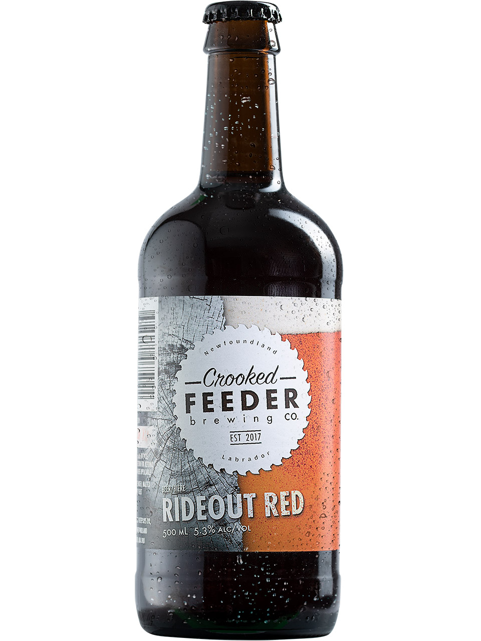 Crooked Feeder Rideout Red 500ml Bottle