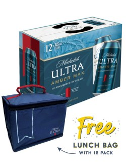 Michelob Ultra Amber Max 12 Pack Cans