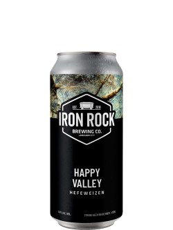 Iron Rock Brewing Co Happy Valley Hefeweizen 473ml