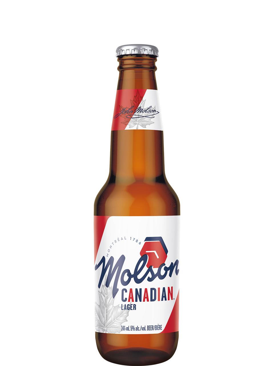 Molson Canadian Bottles 12pk