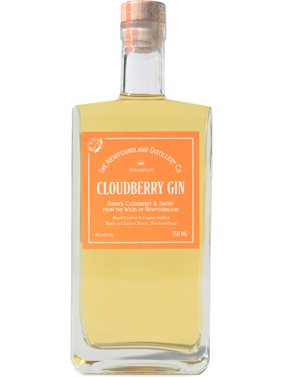 The Newfoundland Distillery Co. Cloudberry Gin