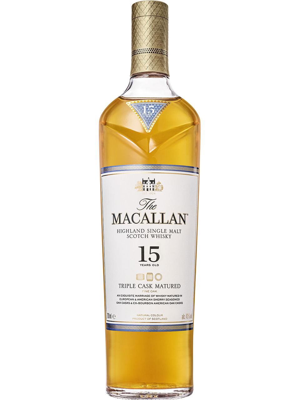 The Macallan Triple Cask 15 YO Single Malt Scotch