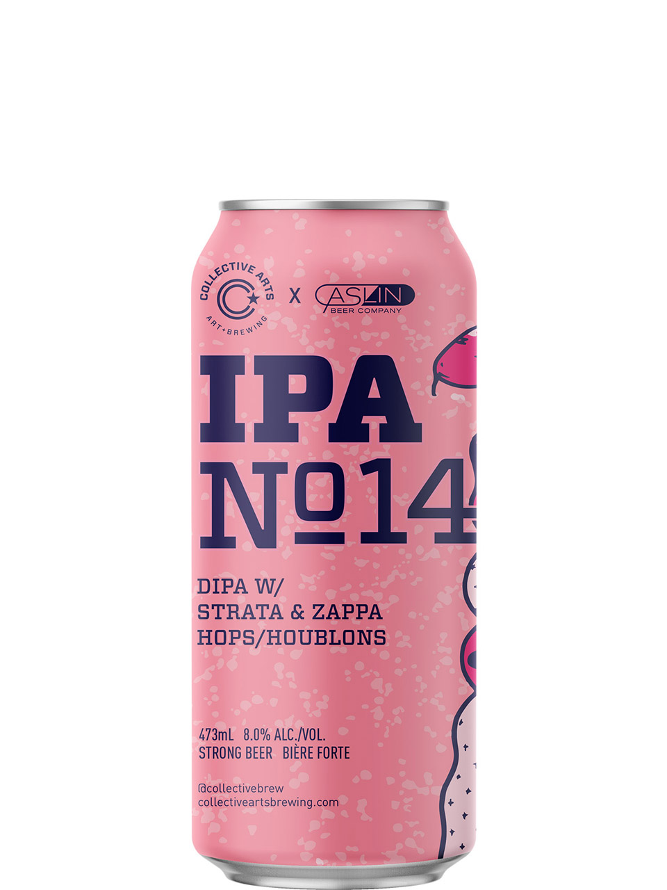 Collective Arts IPA No.14 DIPA Strata&Zappa 473ml