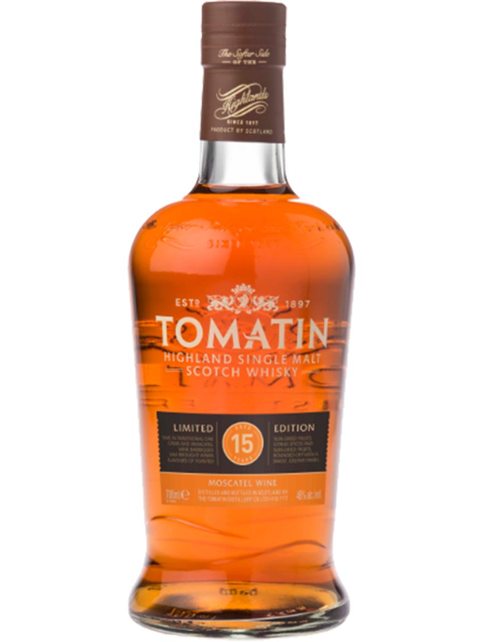 Tomatin 15YO Moscatel Single Malt Scotch Whisky