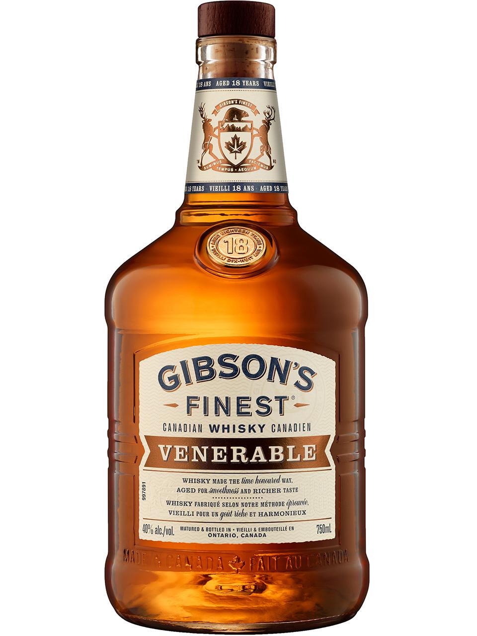 Gibson's Finest Venerable 18YO Whisky