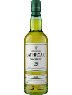 Laphroaig 25 Year Old Single Malt Scotch Whisky