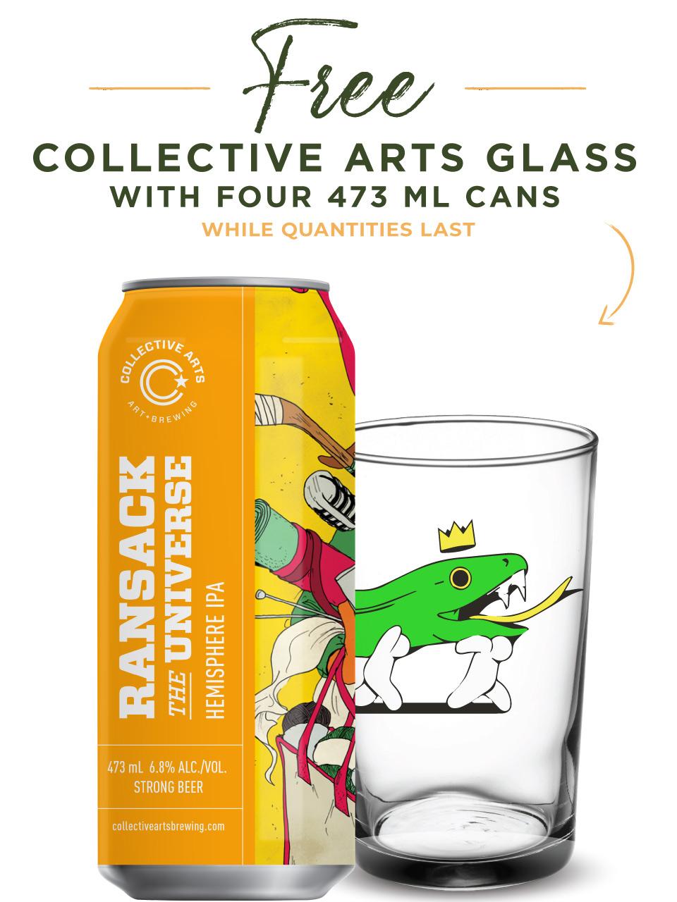 Collective Arts Ransack The Universe HemisphereIPA