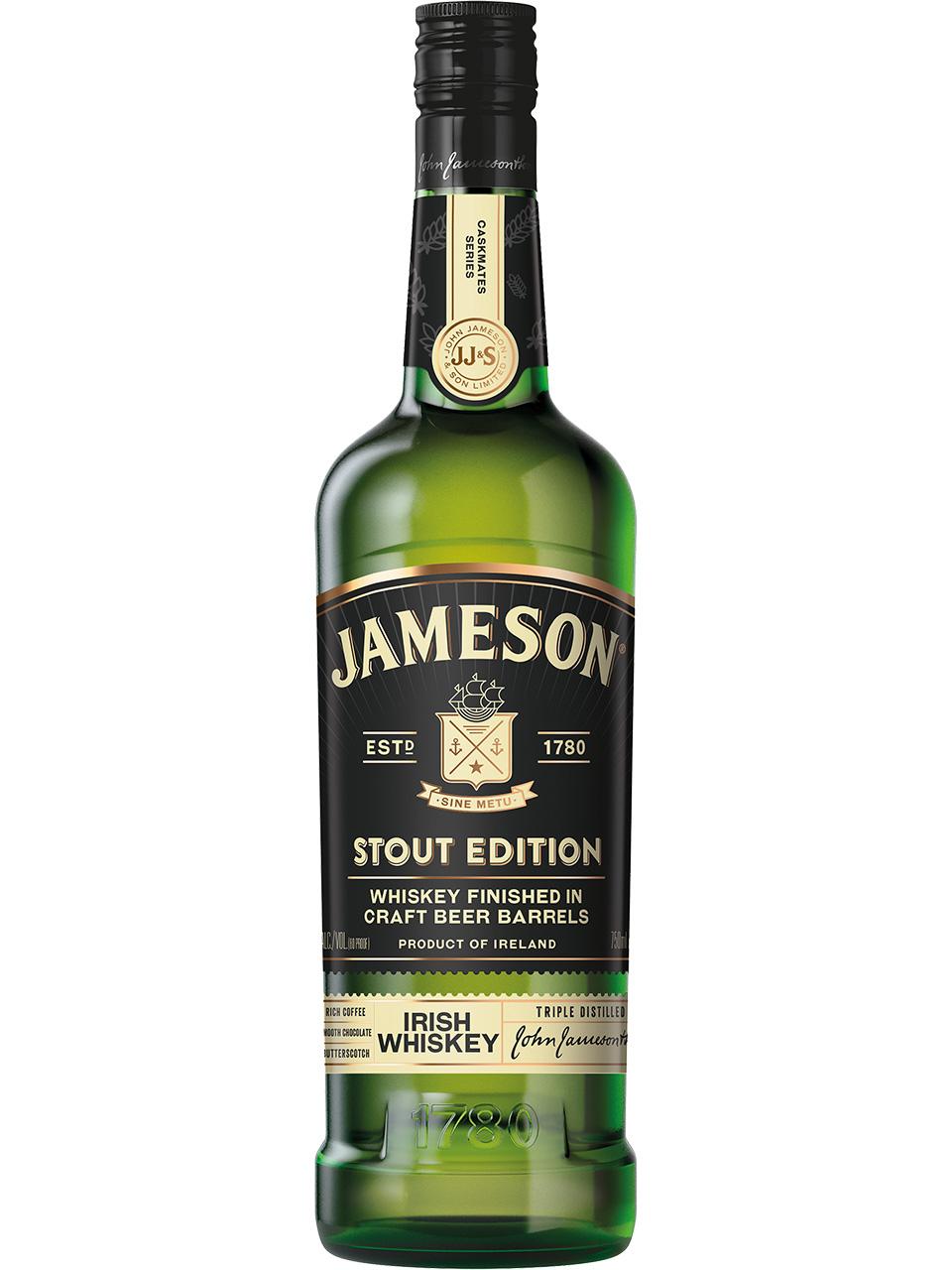 Jameson Stout Edition Irish Whiskey