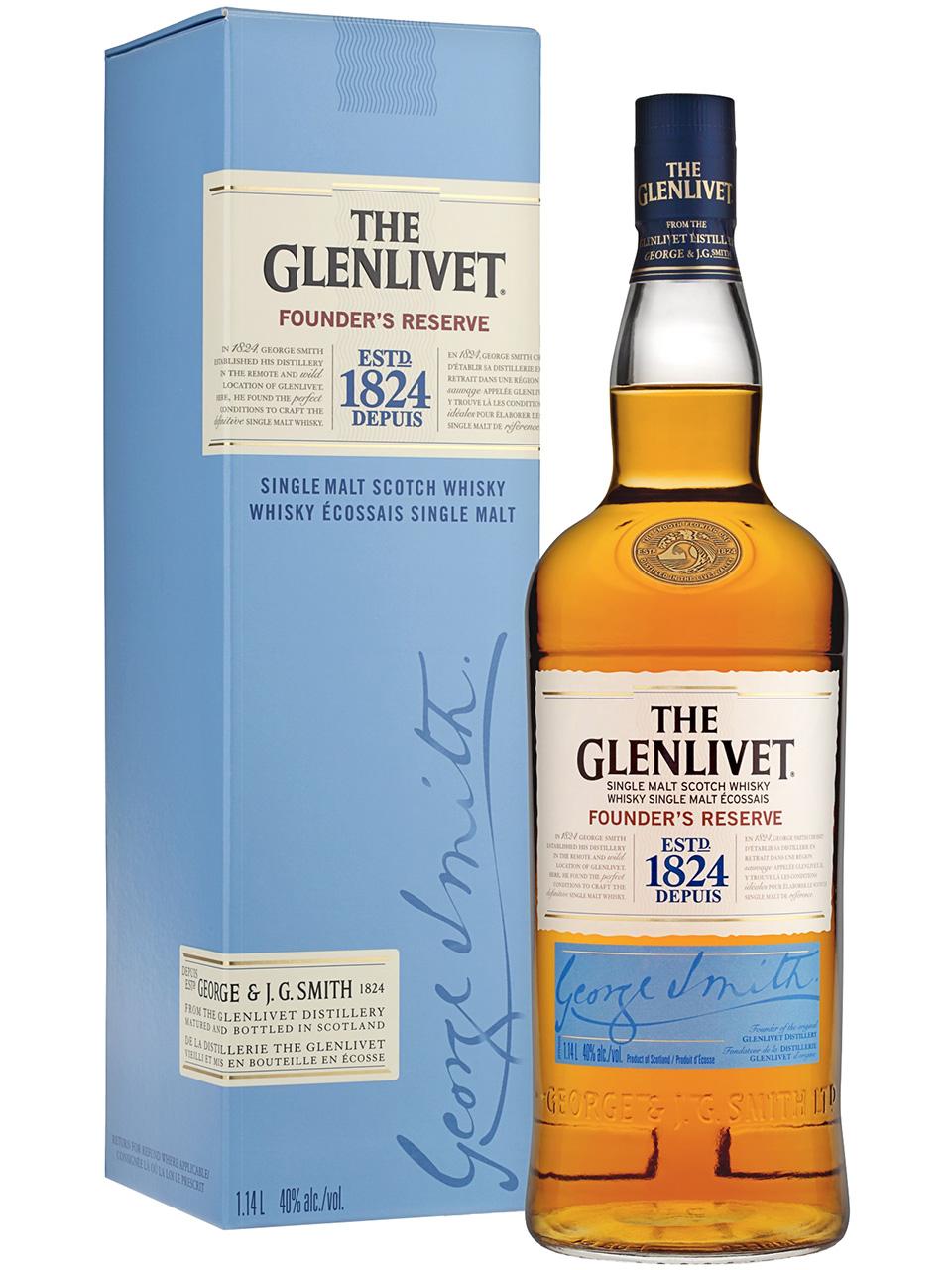 The Glenlivet Founder's Reserve Single Malt Scotch