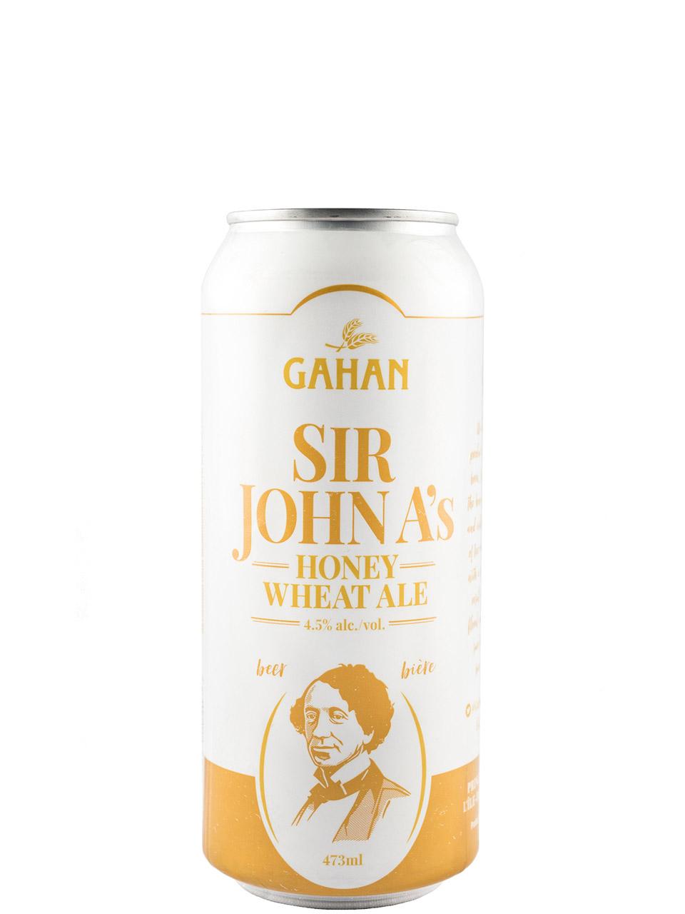 Gahan Sir John A Honey Wheat Ale 473ml Can