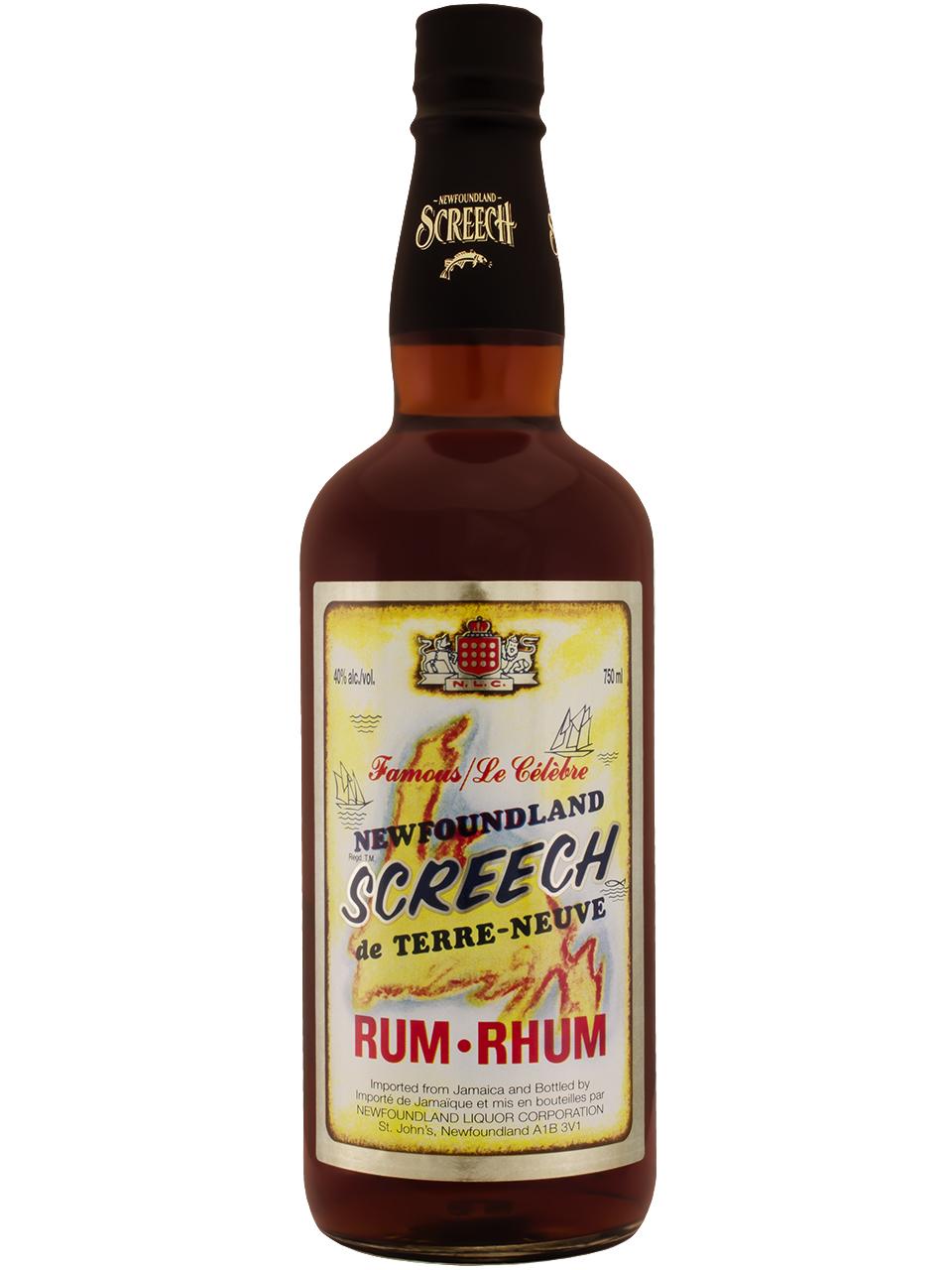 Screech Rum Retro