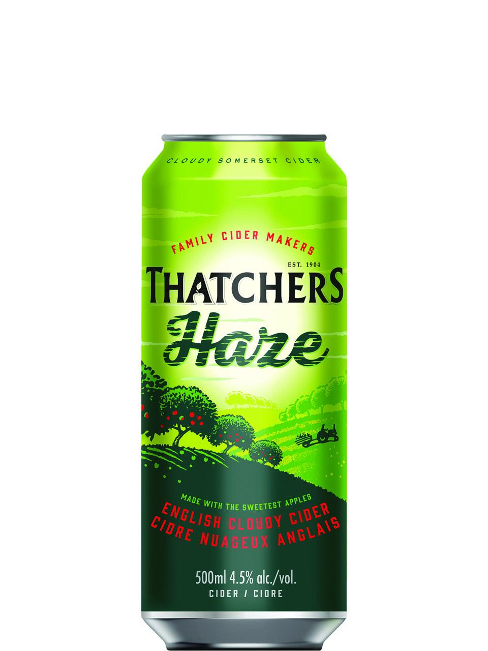 Thatchers Haze Cider 500ml Can