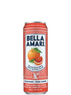 Bella Amari Blood Orange 4 Pack Cans
