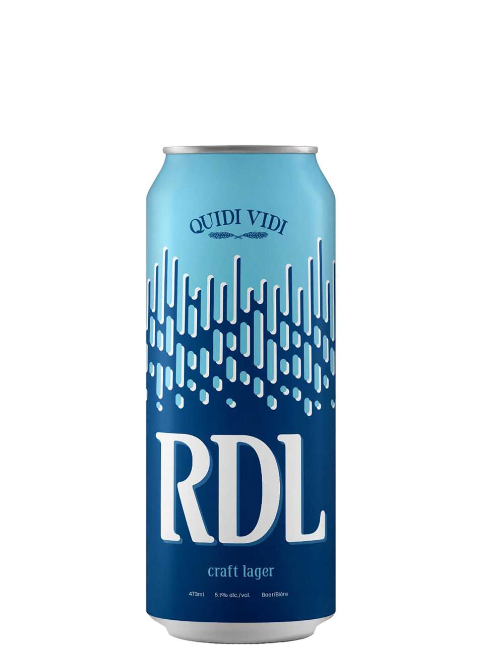 Quidi Vidi RDL Lager 473ml Can