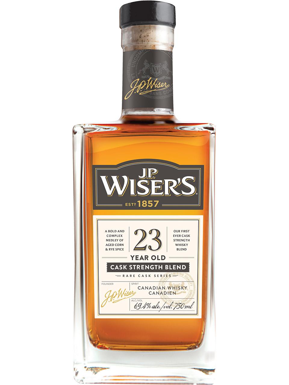 J.P. Wiser's 23 YO Canadian Whisky