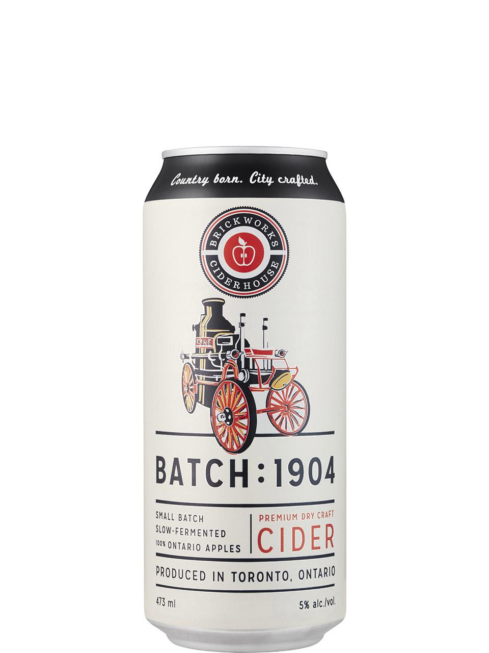 Brickworks Ciderhouse Batch 1904 Cider 473ml