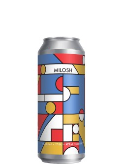 2 Crows Milosh Helles-Style Lager 473ml Can