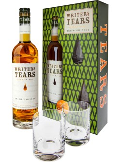 Writers Tears Copper Pot Glasses Gift Pack