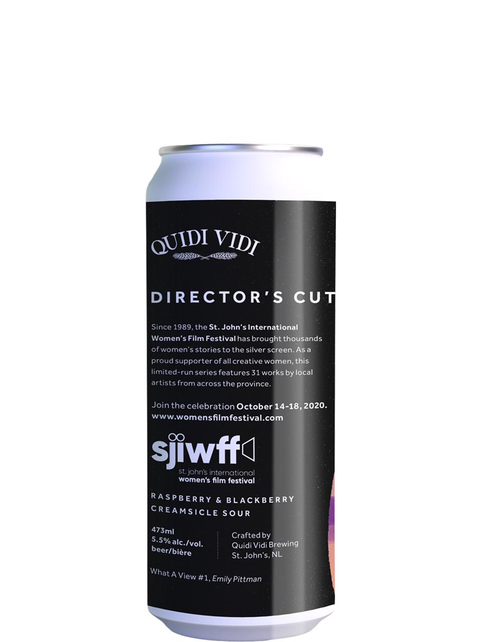 Quidi Vidi Director's Cut Blkberry Rasp.Creamsicle