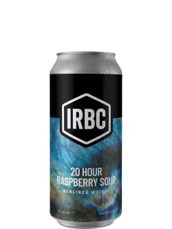 Iron Rock Brewing Co 20 Hour Raspberry Sour 473ml