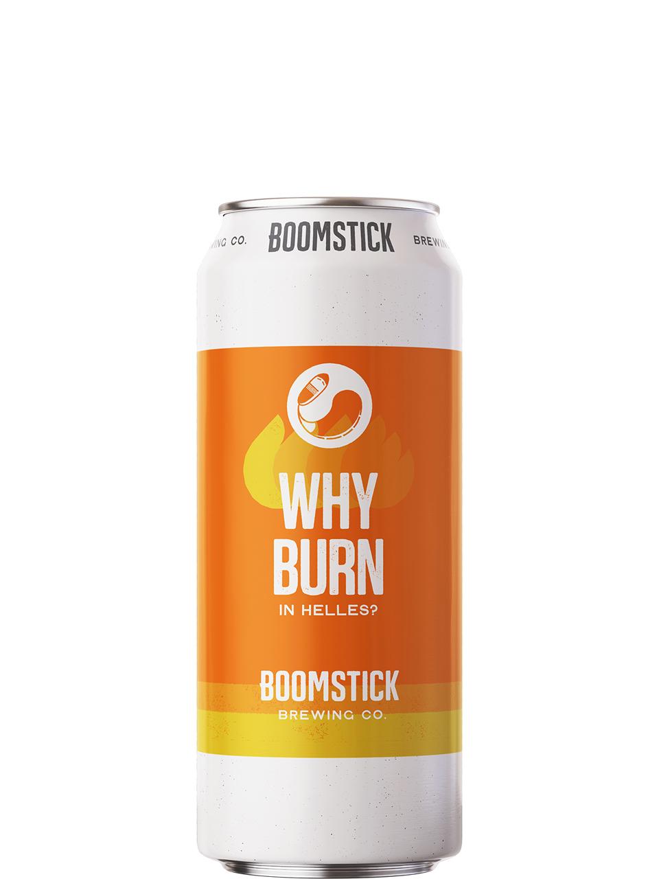 Boomstick Why Burn Helles 473ml Can