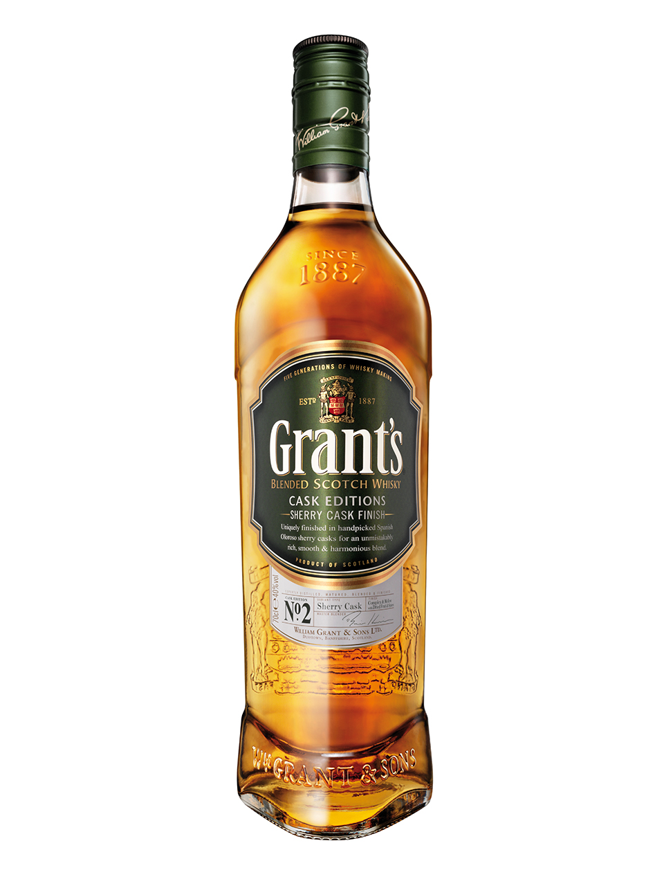 Grant's Cask Editions Sherry Cask Finish