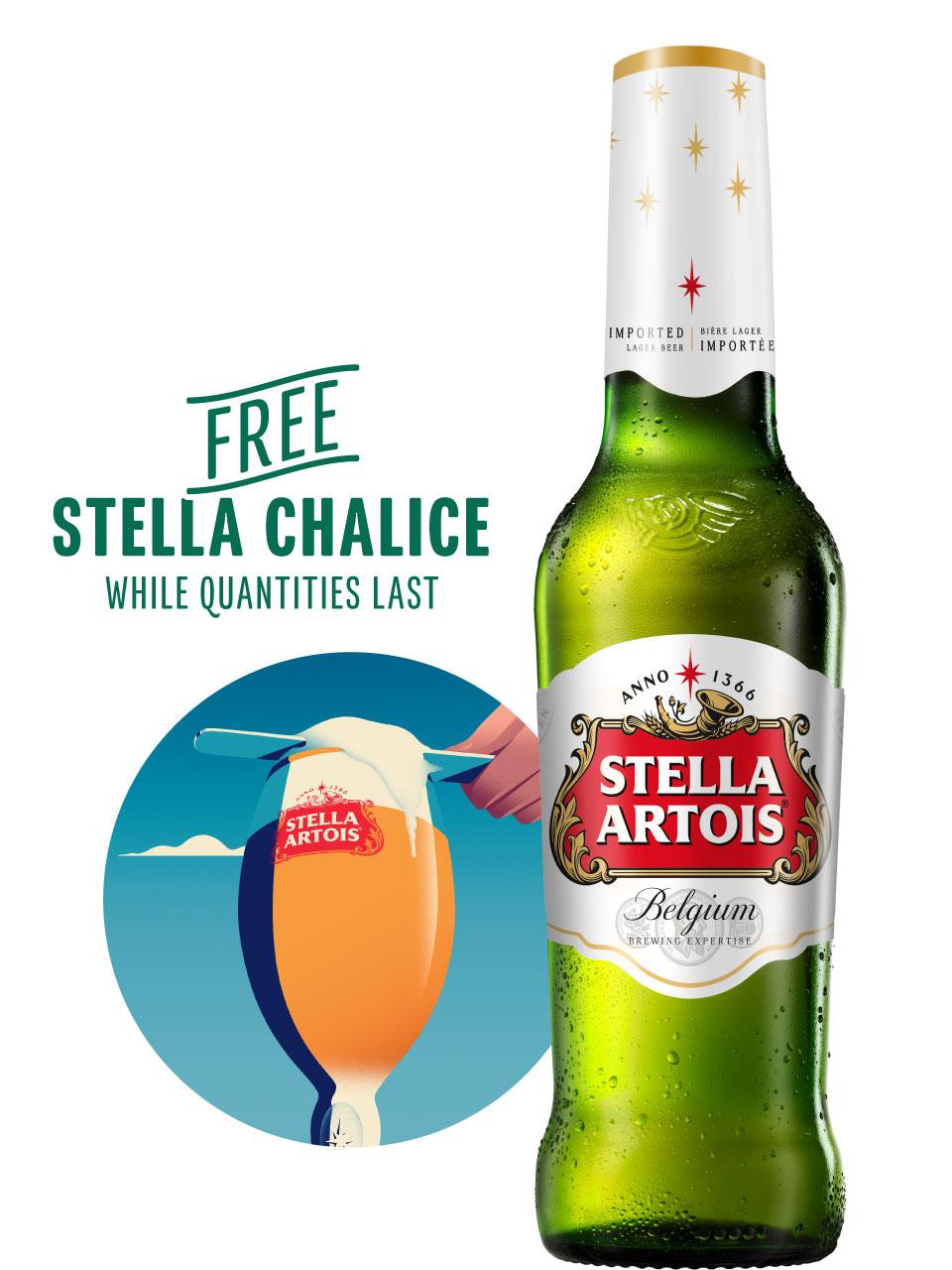 Stella Artois 12 Pack Bottles