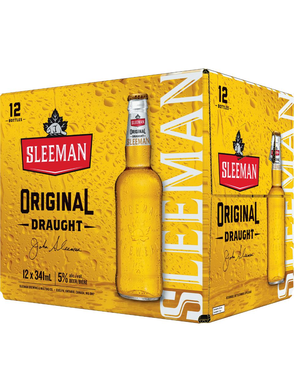 Sleeman Original Draught 12 Pack Bottles