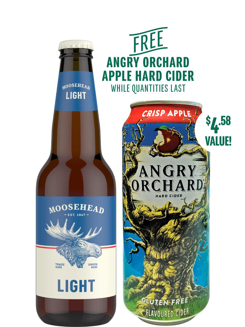 Moosehead Light 12 Pack Bottles