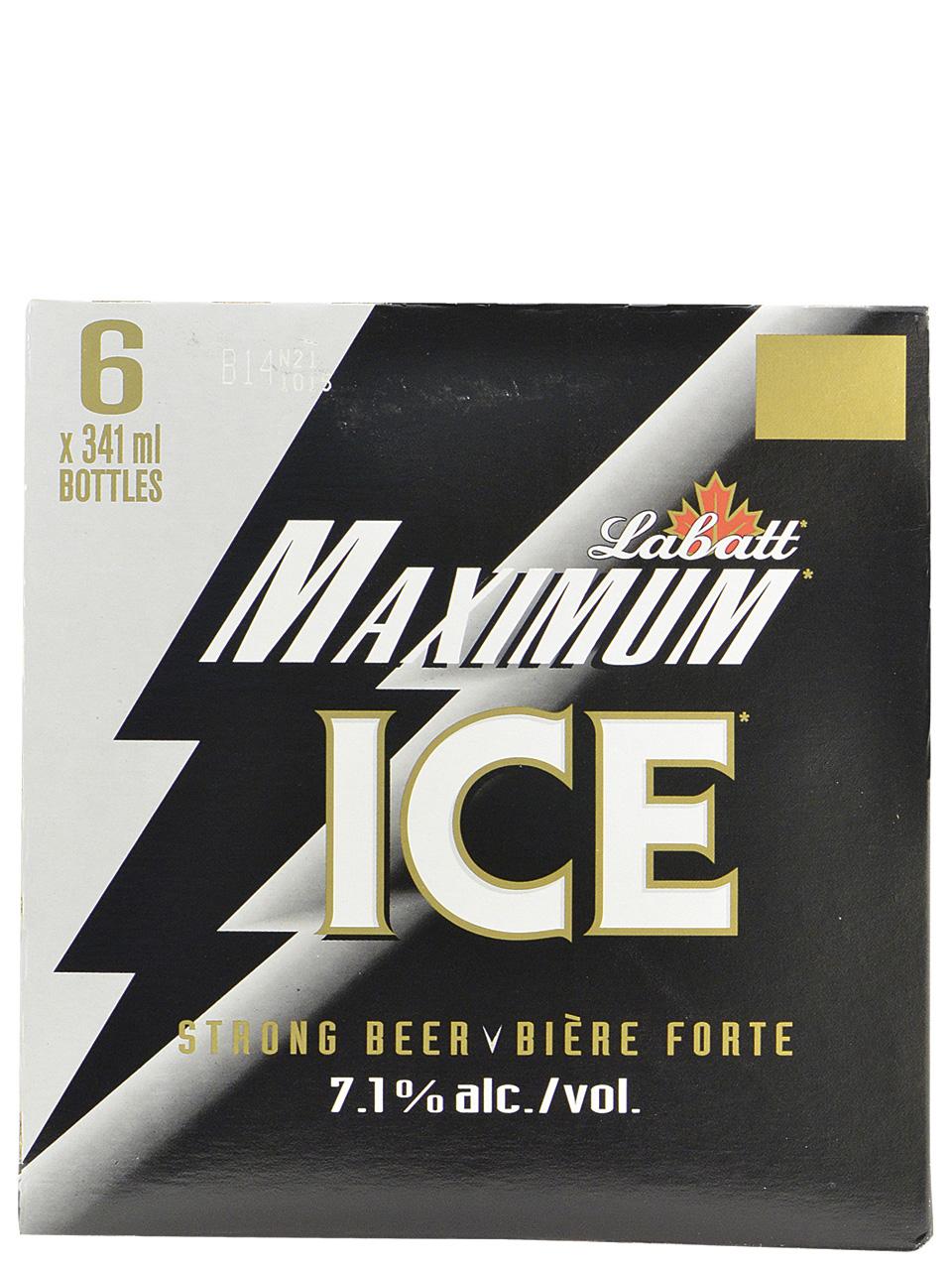 Labatt Maximum Ice Bottles 6pk