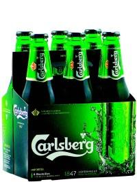 Carlsberg Bottles 6 Pack Bottles