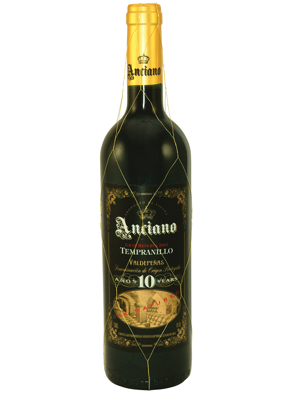 Anciano Gran Reserva Tempranillo Aged 10 Years