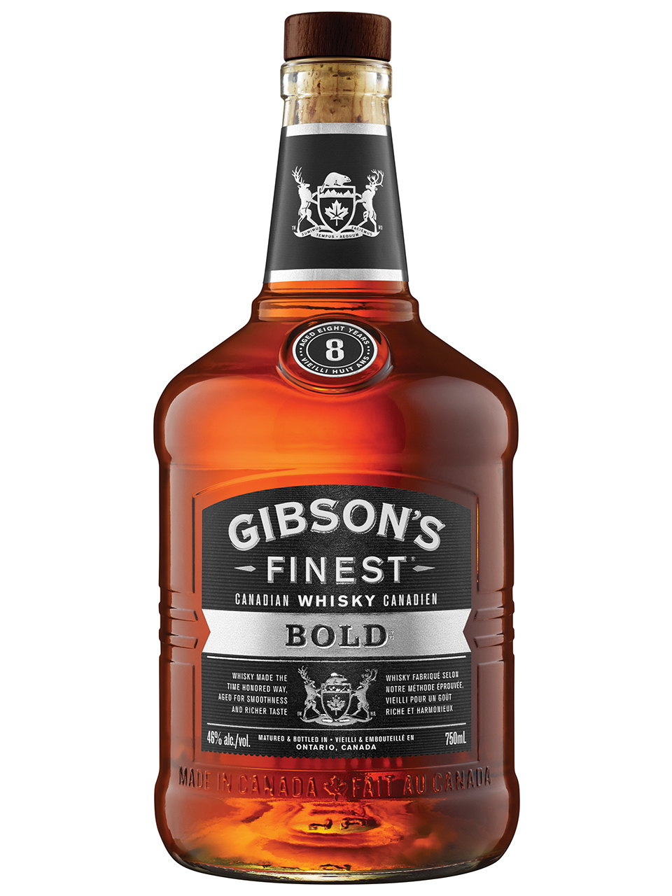 Gibson's Finest Bold 8YO Whisky