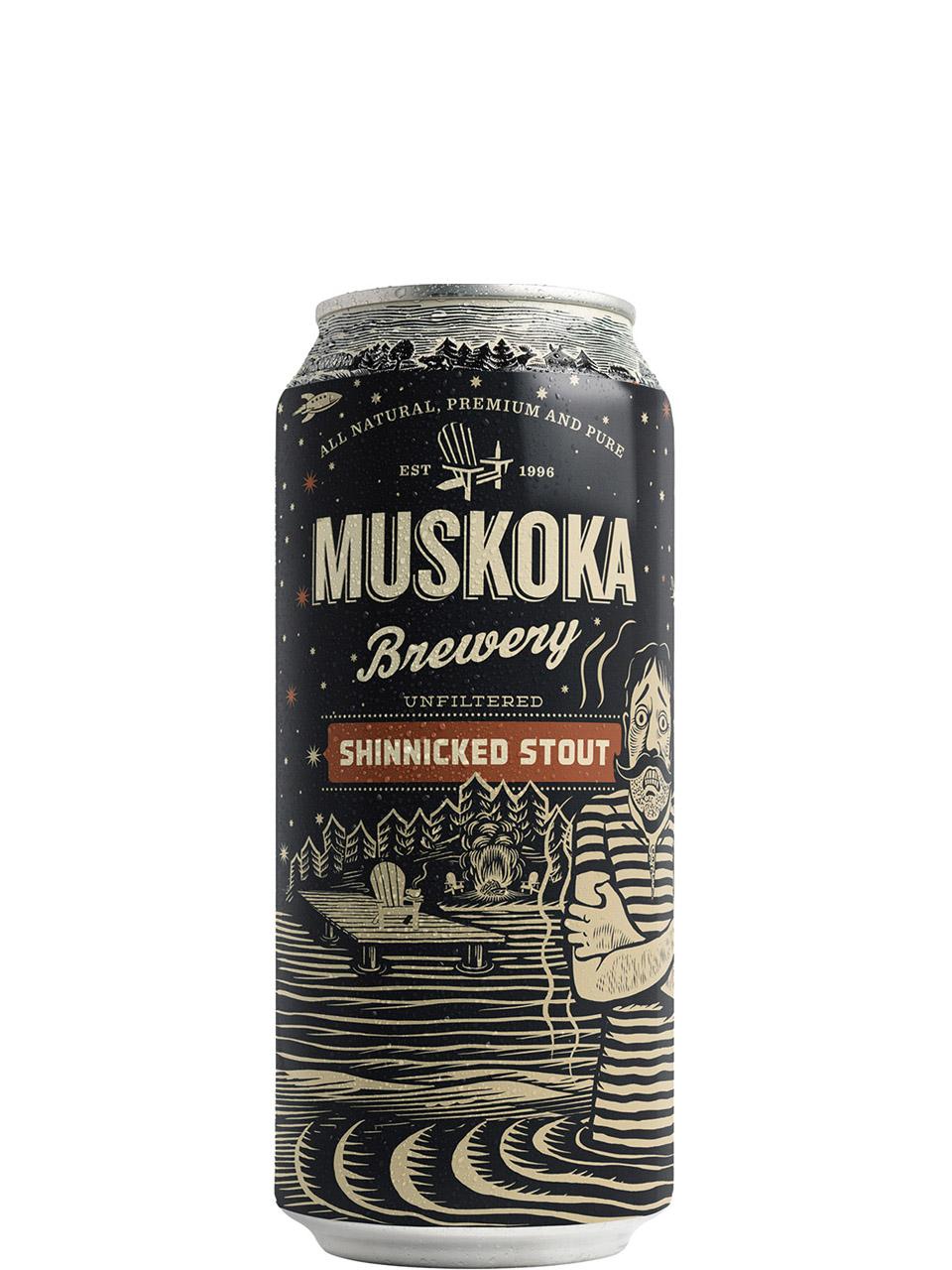 Muskoka Shinnicked Stout 473ml Can