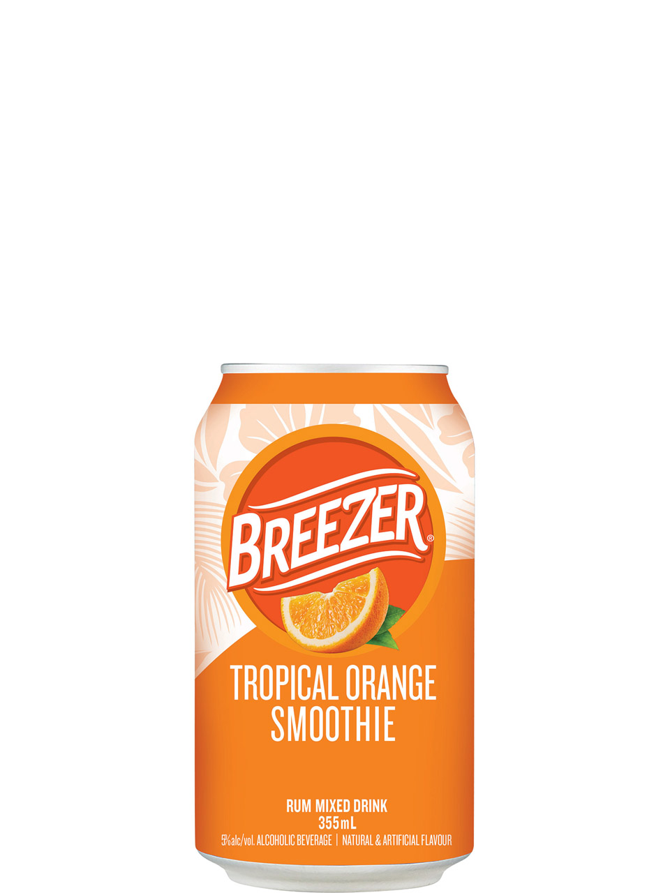 Breezer Tropical Orange Smoothie 6 Pack Cans