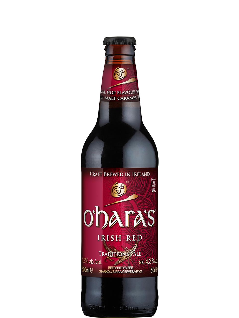 O'hara's Irish Red 500ml Bottle
