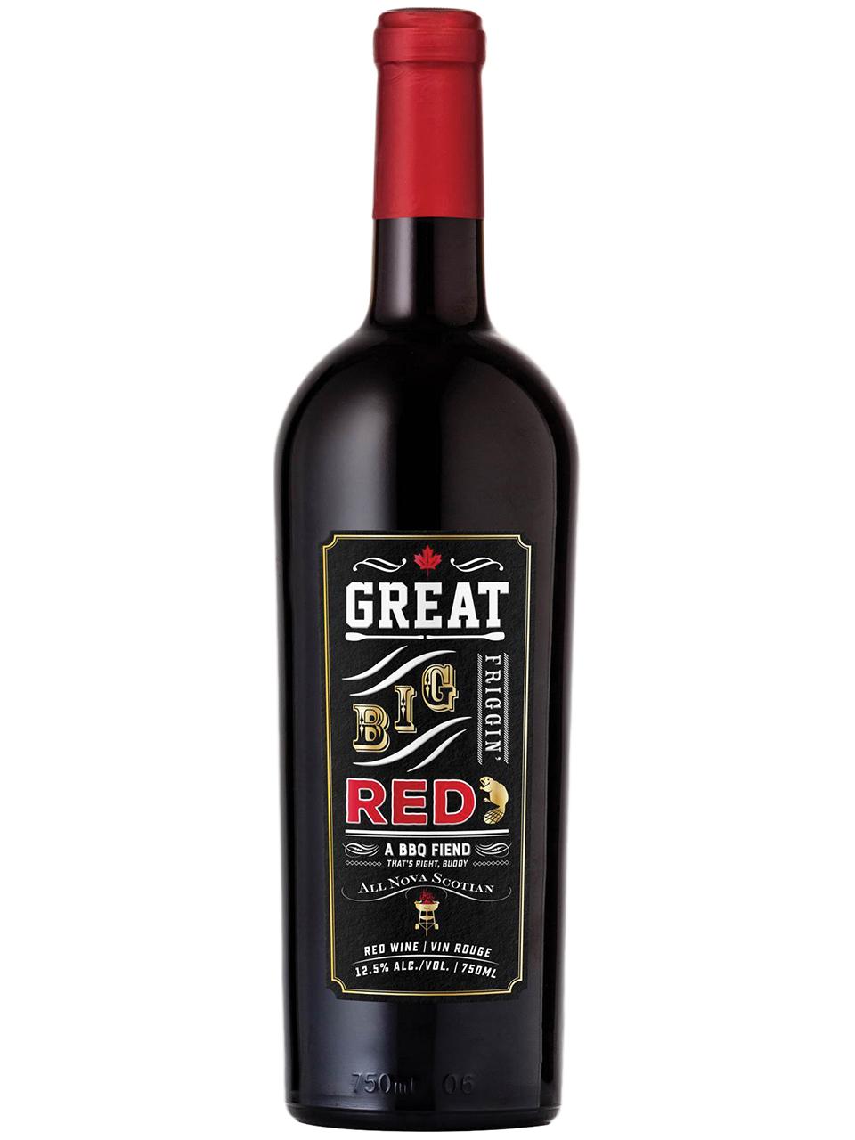 Great Big Friggin Red