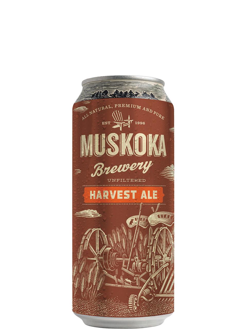 Muskoka Harvest Ale 473ml Can