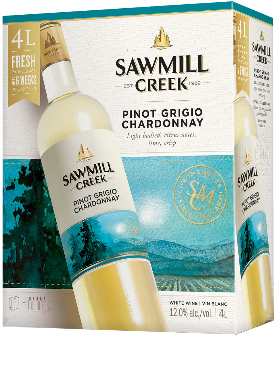 Sawmill Creek Pinot Grigio Chardonnay