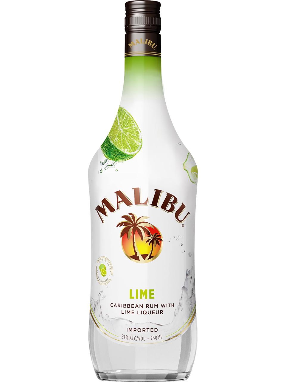 Malibu Lime Flavoured Rum