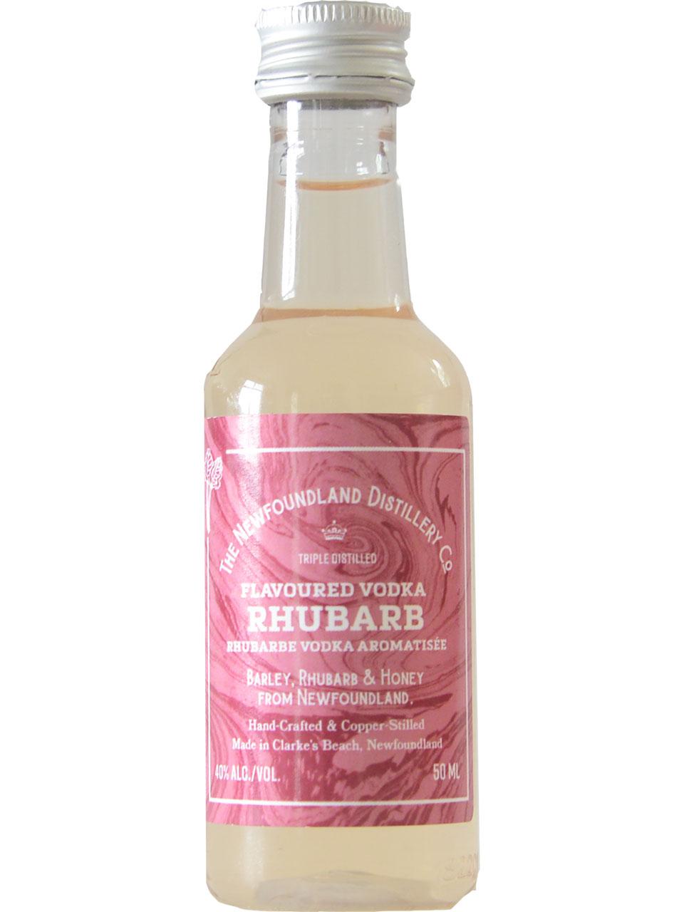 The Newfoundland Distillery Co. Rhubarb Vodka