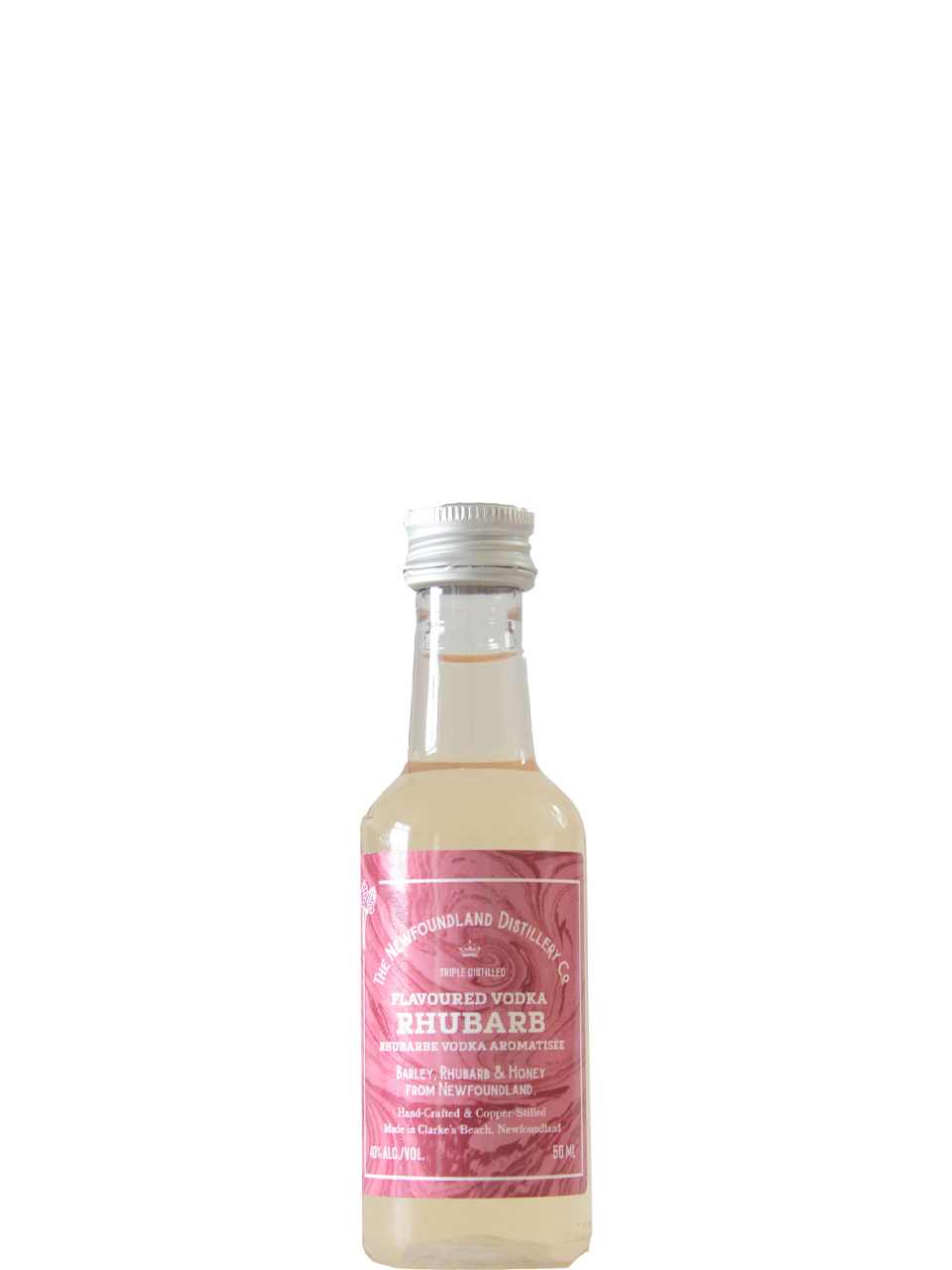The Newfoundland Distillery Co. Rhubarb Vodka