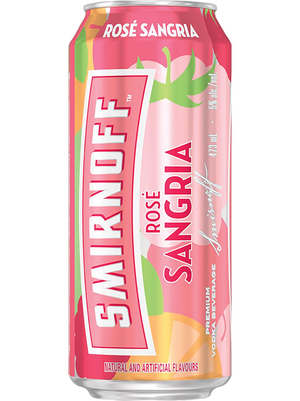 Smirnoff Rose Sangria 473ml Can