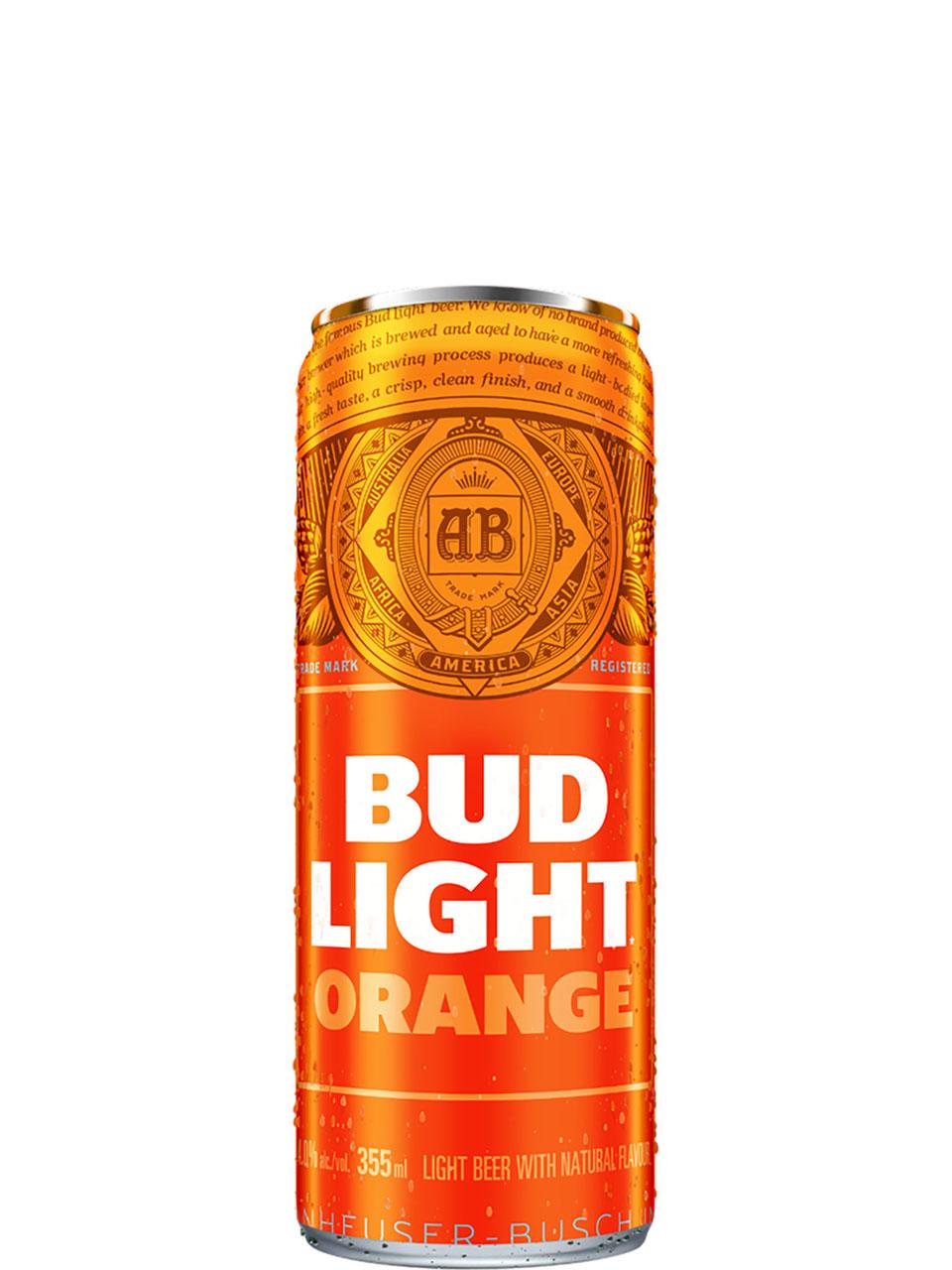 Bud Light Orange 12 Pack Cans