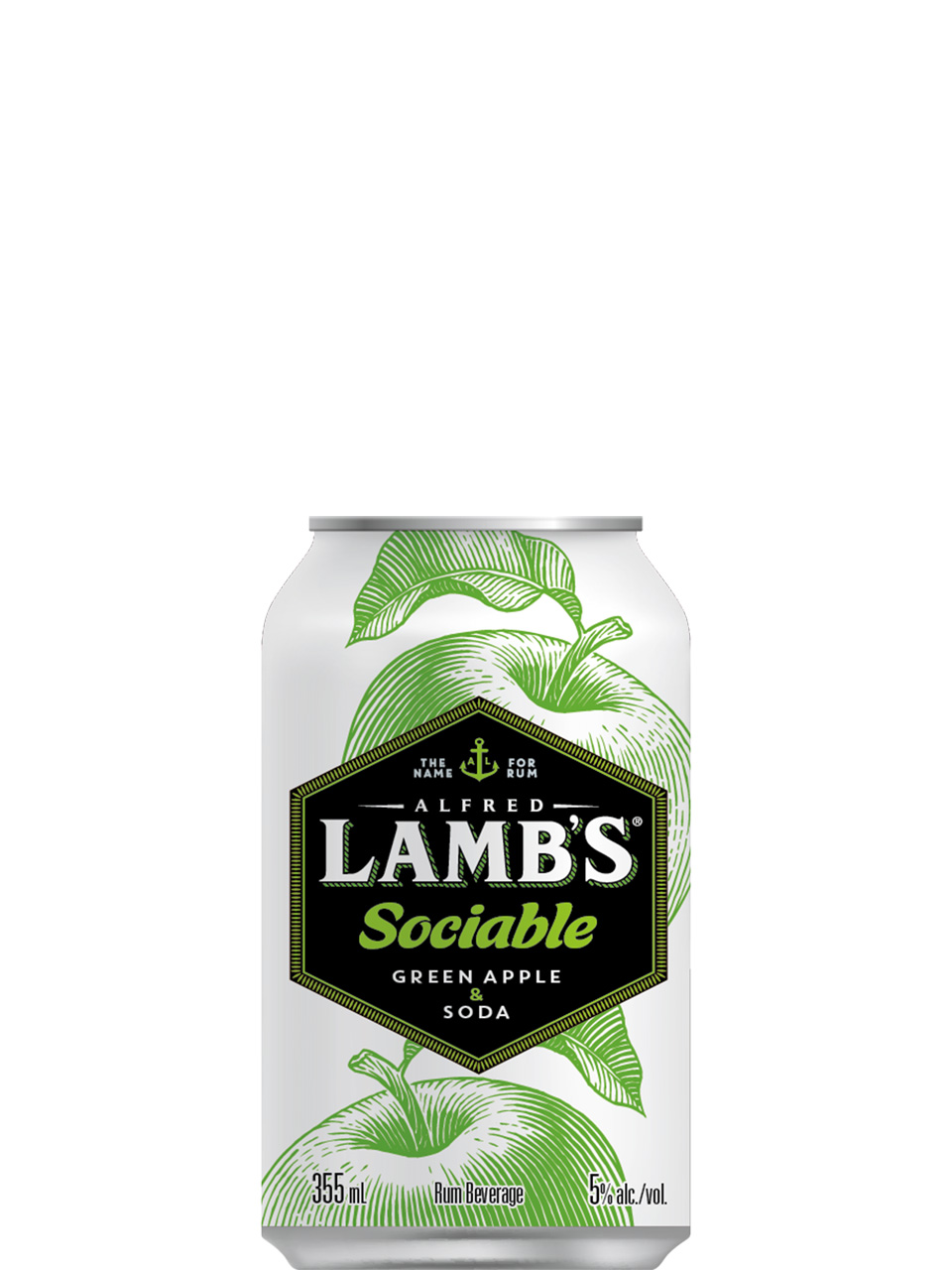 Lamb's Sociable Green Apple & Soda 6 Pack Cans