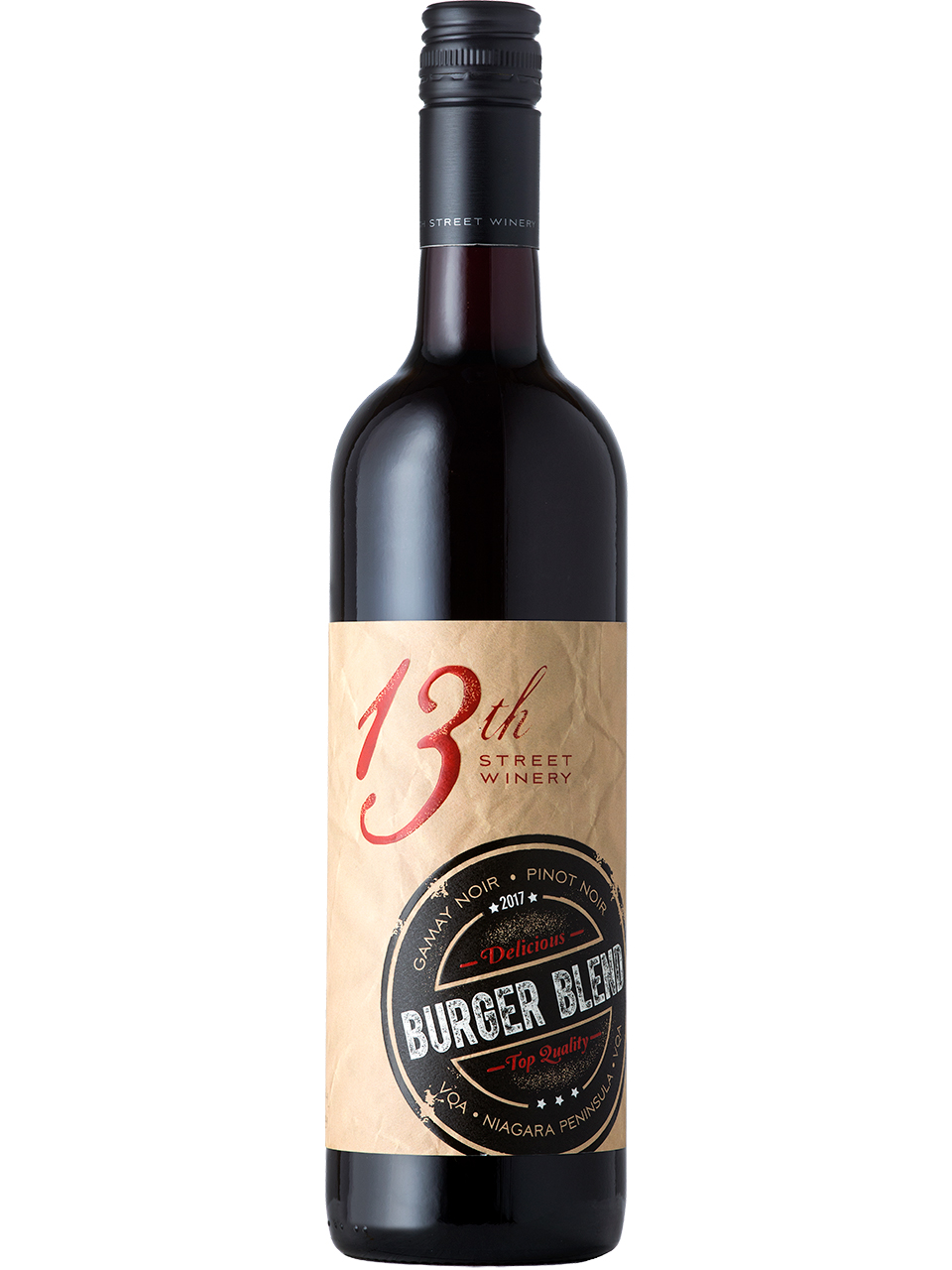 13th Street Winery Burger Blend Red
