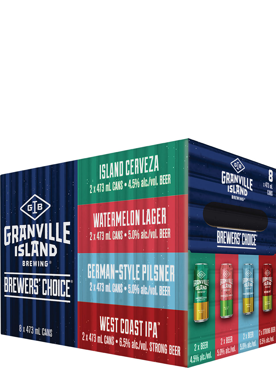 Granville Brewer's Choice Summer 8 Pack Cans