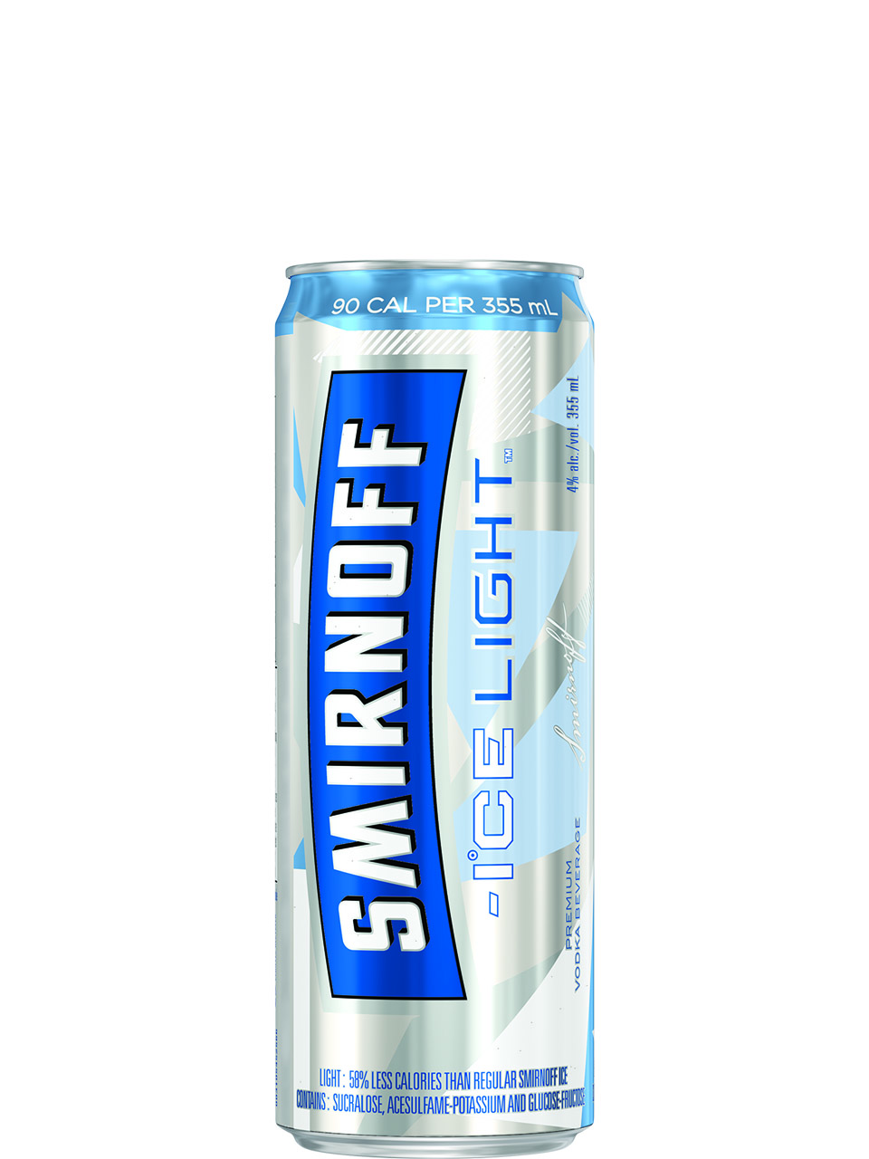 Smirnoff Ice Light 4 Pack Cans